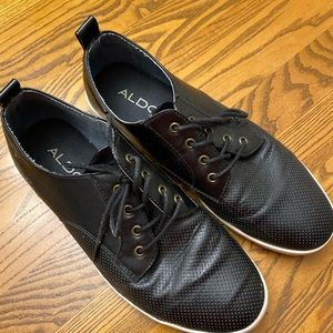 Aldo Black Casual Dress Sneakers
